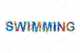 Summer holiday swimming